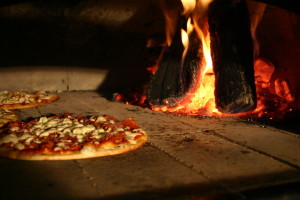 Pizza Party Hire wood fired pizza